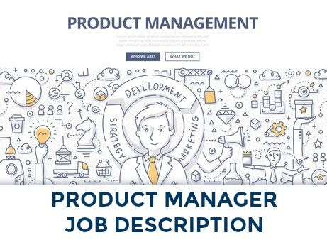 product manager description product manager description product management