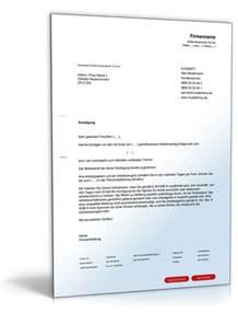 Muster Schreiben Garantie Muster Ordentliche K 252 Ndigung F 252 R Arbeitgeber Zum