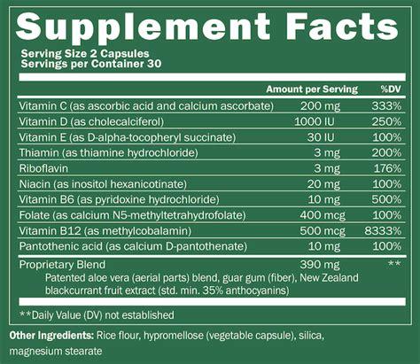 supplement x factor plexus xfactor multivitamin antioxidant supplement