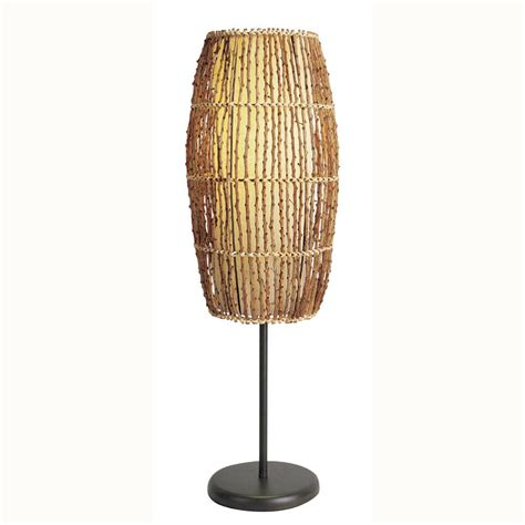 Dining Room Table Length rattan lamp