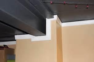flat black paint basement ceiling ideas painted basement