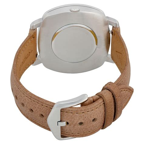 fossil idealist light brown leather fossil idealist white light brown leather