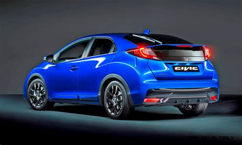 honda uk 2015 honda civic sport is new for uk with type r styling