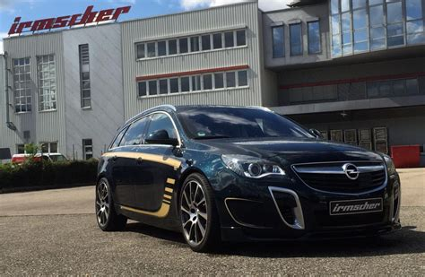 opel insignia opc 2016 irmscher develops is3 bandit based on opel insignia opc