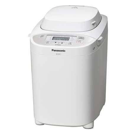 Dispenser Panasonic panasonic sd 2511wxc automatic breadmaker built in dispenser timer white ebay