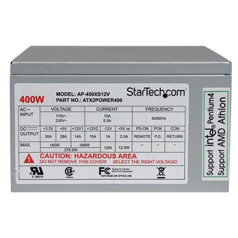 Power Supply 400watt 400w atx computer power supply replacement power