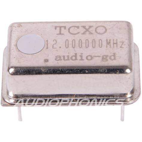 Xtal 12mhz 12 Mhz Low Profile audio gd tcxo ultra low jitter clock 12mhz audiophonics