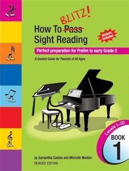 sight a celta novel books how to blitz sight reading book 1 pre gr 3