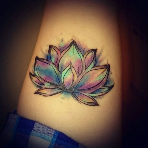 small colorful flower tattoos 25 best ideas about color tattoos on colorful