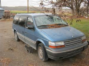1994 plymouth voyager for sale photos technical