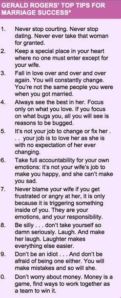 Marriage advice can allow a couple to have a successful marriage love