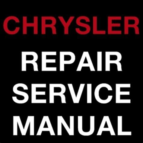 chrysler sebring 2007 2009 factory repair service manual