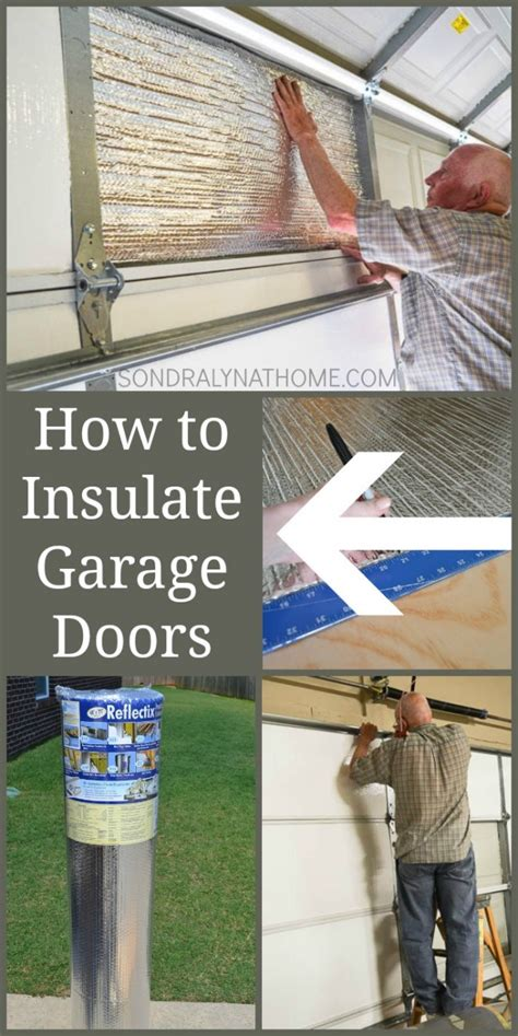 How To Insulate A Garage How To Insulate Garage Doors And Why You Should