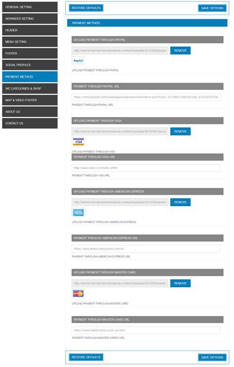 themeforest payment options menda ecommerce wordpress themes by tmdstudio themeforest