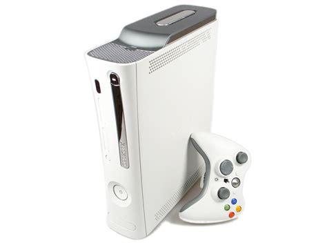 console inf microsoft xbox 360