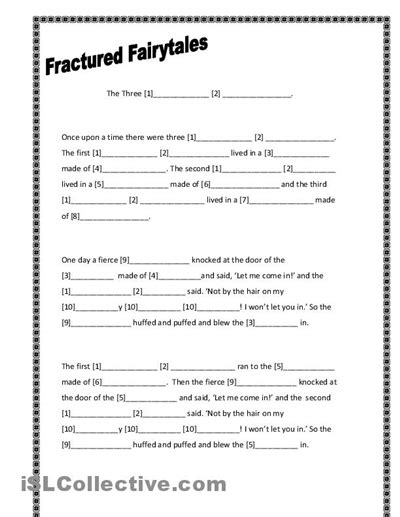fractured tale worksheet three pigs writing template fractured fairytales three pigs worksheet free