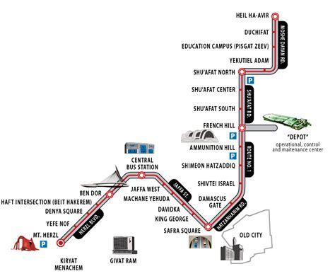 jerusalem light rail map lrt in jerusalem redflagdeals forums