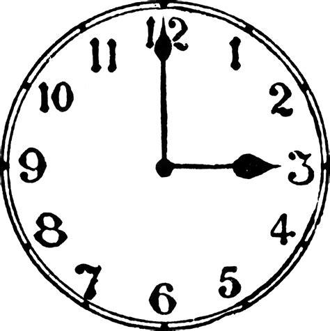 printable o clock 2 o clock clipart clipart suggest