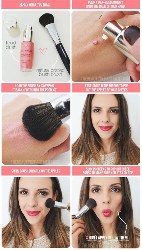 Blush Application Tutorial by How To Apply Liquid Blush Tutorial Alldaychic