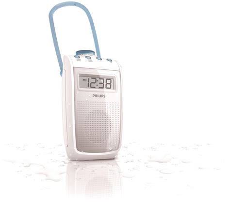 Philips Bathroom Radio Ae2330 Reviews Philips Ae2330 Splash Proof Bathroom Shower Am Fm Clock
