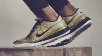 athletes world shoes nike made gold sneakers for the world s greatest athlete