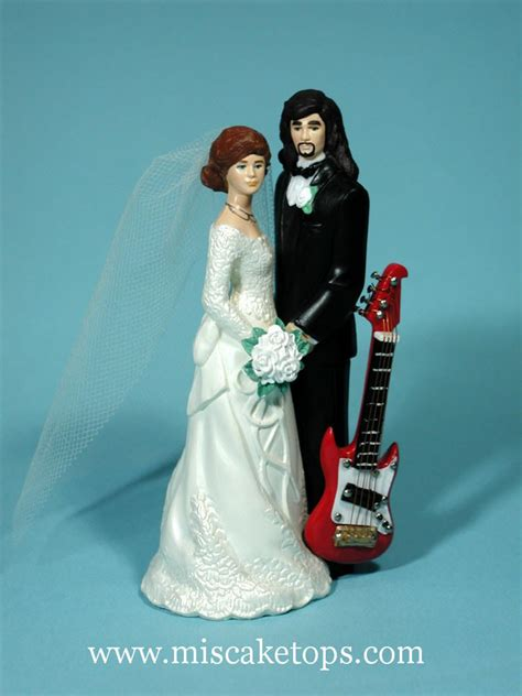 wedding cake exles guitar groom cake topper best wedding cake 2018