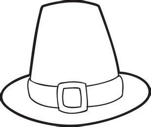 pilgrim hat printable template free printable pilgrim hat coloring page for