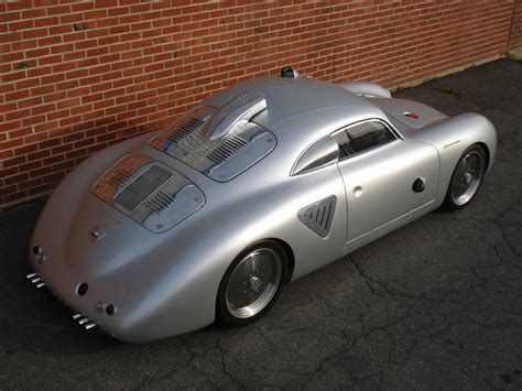porsche modified cars 1955 porsche 356 silver bullet hotrod siderearview flatsixes