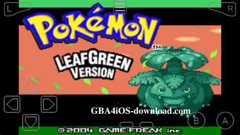 Gba Leaf Green leafgreen cheats gameshark codes gba gba4ios