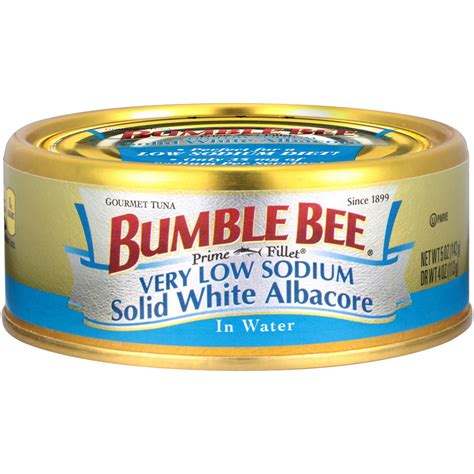 low sodium prime fillet 174 solid white albacore tuna in