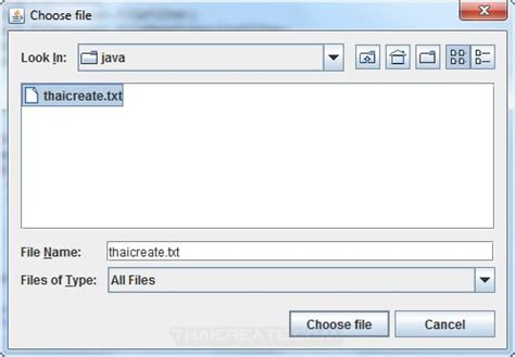 swing file chooser java swing and file chooser jfilechooser exle