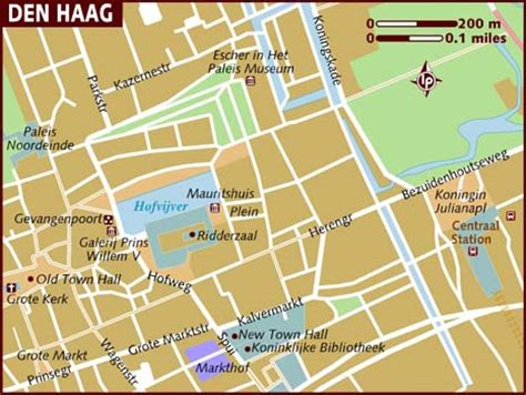 netherlands the hague map map of the hague