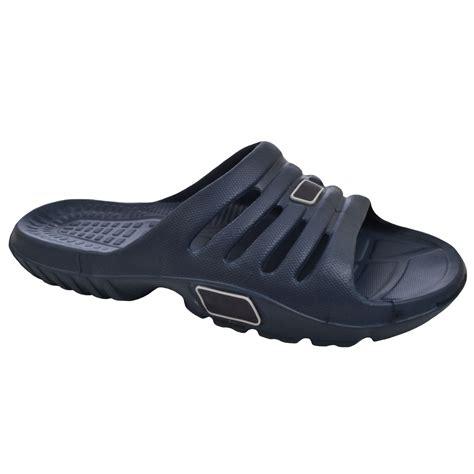 mens adults swimming pool sandals flip flops shower