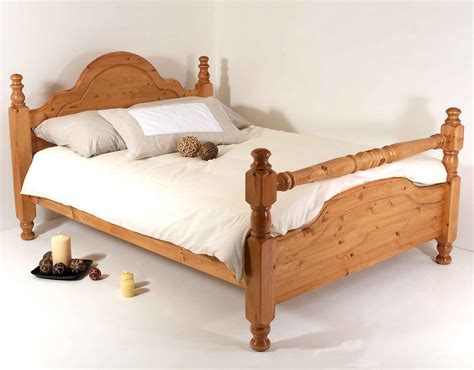 Ebay King Bed Frame 6ft King Bed Frame Solid Pine All Sizes Available Classic Rail Bed Ebay
