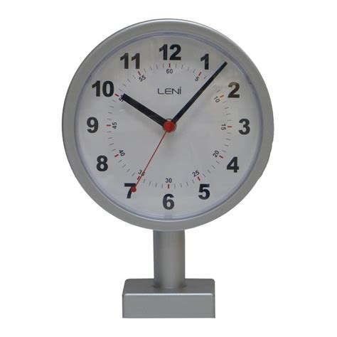 buy clock buy leni station clock 20cm silver online purely wall clocks