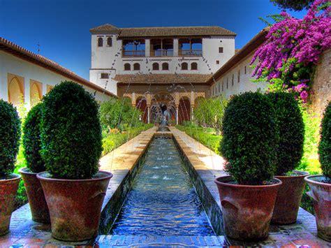 imagenes de jardines arabes jardines generalife