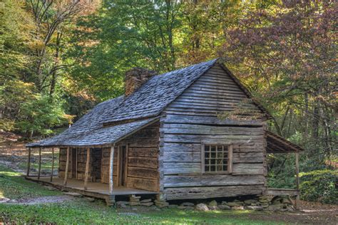 smoky mountains historic cabins matthew paulson photography