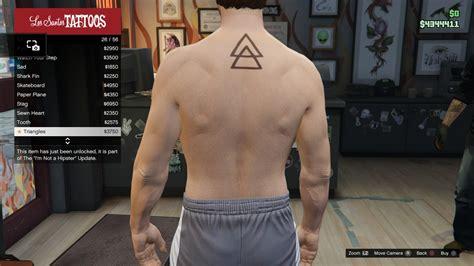 gta v tattoos image gtav torso triangles jpg gta