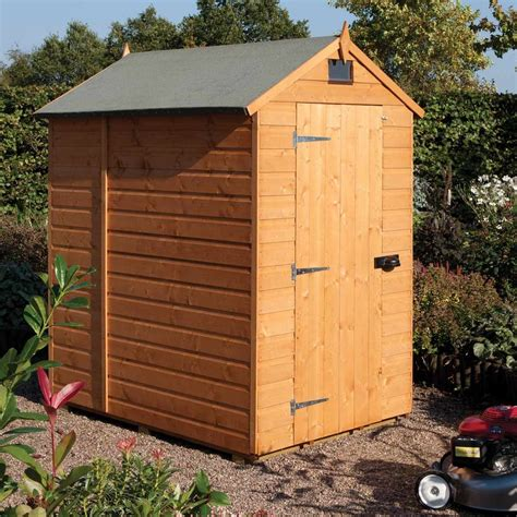 7x5 Wooden Shed by 7x5 Security Shed 7ft 5ft Wooden Timber Seccurity Hinges