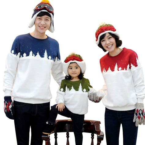 family clothes family look christmas tree family clothing dad mom boy t