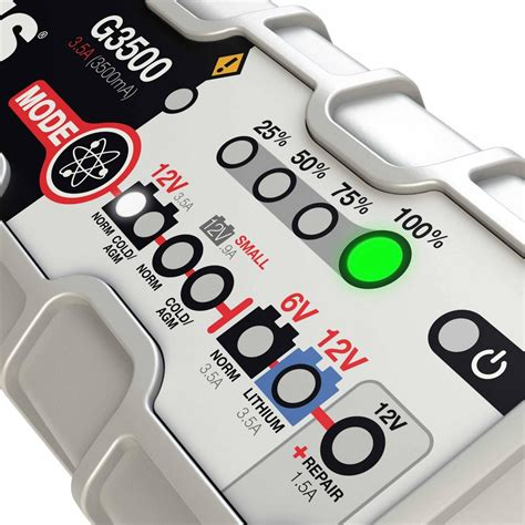 Noco G3500 35 Ultrasafe Battery Charger And Maintainer noco 3 5a battery charger and maintainer g3500