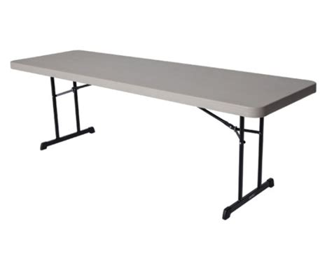 8 Ft Folding Table by Lifetime Tables 80127 8 Ft Putty Professional Grade