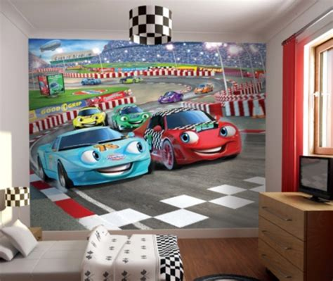 cars wall mural racing car boys wall mural