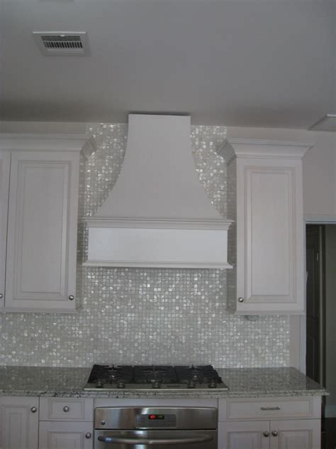 mother of pearl oyster white glass tile tilebar com