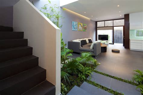interior garden a fresh home with open living area internal courtyard