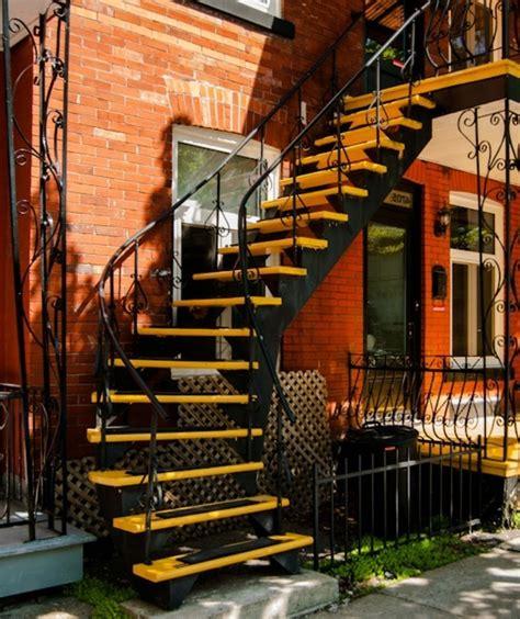 Escalier Exterieur En Bois by L Escalier Ext 233 Rieur En 57 Photos Qui Vous Feront R 234 Ver