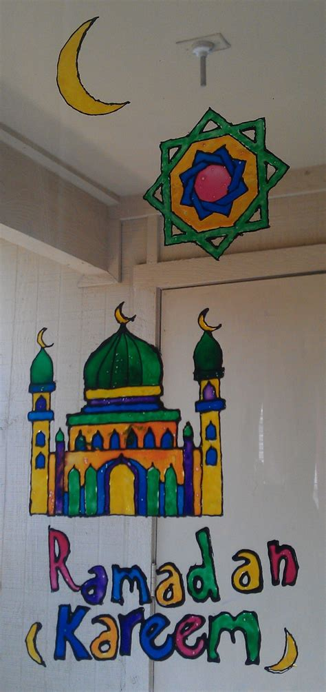 eid craft for 17 best images about ramadan crafts on window