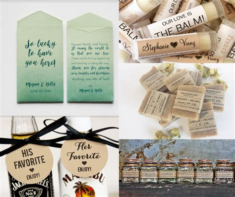 unique wedding favor ideas unique wedding favor ideas guest will use erin pelicano