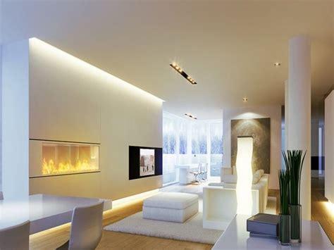beleuchtung raum led beleuchtung wohnzimmer ideen verschiedene lichtquellen