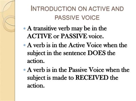 verb pattern in active and passive sentences past continuous tense active passive voice